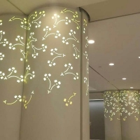 雕花铝单板 雕花窗框 雕花艺术品