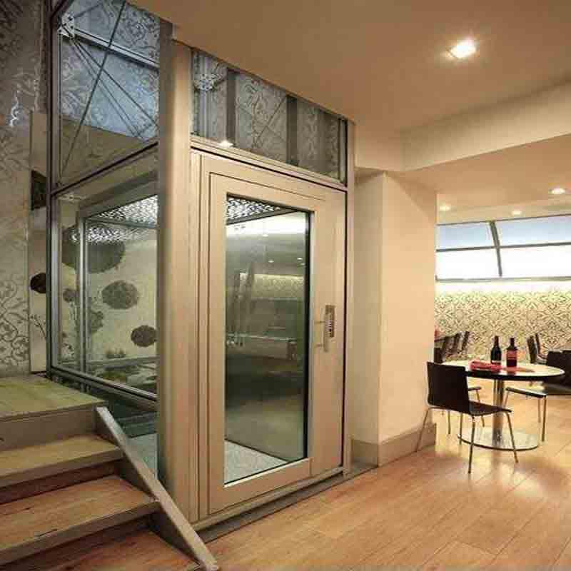 家用小型二三层别墅复式阁楼电梯