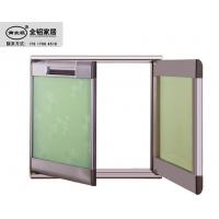 晶钢门铝材厂家 灶台门边框材料 外框晶钢门材料