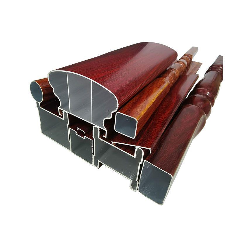 新款全铝楼梯扶手材料 铝合金扶手型材厂家直销