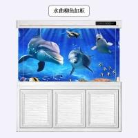 山东全铝鱼缸底柜水族箱草缸柜铝型材可 定制迷你鱼缸