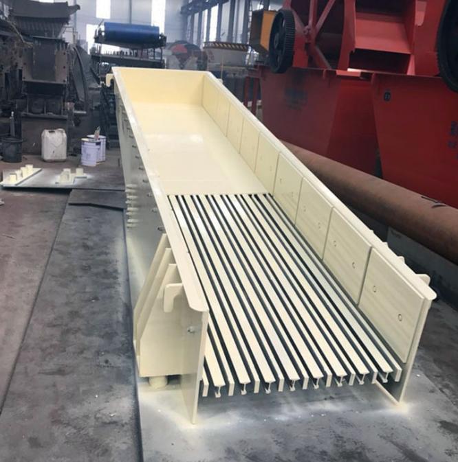 石料生产线配套设备振动给料机 加料机时产量高