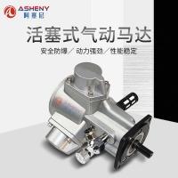 活塞式气动马达风动马达大功率扭矩船矿用防爆微型减速吨桶搅拌机