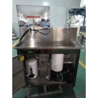 月雅泉校园饮水机工厂节能冰机公共饮水平台不锈钢饮水机YQ-3
