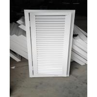 加工定做防雨百葉風口 鋁合金防雨百葉窗 外墻空調百葉窗