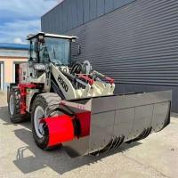 混凝土攪拌裝載機 鏟斗帶攪拌的裝載機 混凝土攪拌輸送一體機