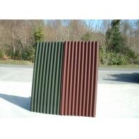 波形沥青防水板,2.6厚通风防水垫层,彩色波形沥青瓦
