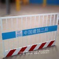 工地基坑临时防护栏竖管焊接结实牢固耐用_副本