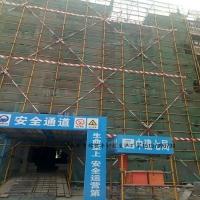 建筑安全通道施工電梯口通道防護山東加工廠家