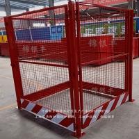 工地塔吊基礎圍欄防護 塔吊安全防護欄 河南新鄉錦銀豐生產廠家