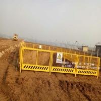 施工电梯防护门 电梯井口防护网 基坑临边防护栏厂家