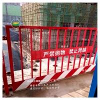 方管建筑栏杆基坑临时围栏焊接牢固质量好