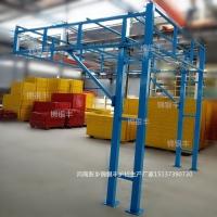 钢筋加工棚配电箱厂家直销找锦银丰护栏安全通道标准化护栏