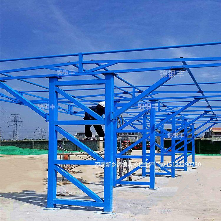 定型化钢结构防护棚厂家_