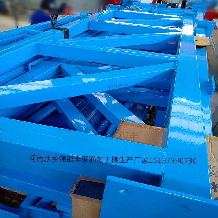 工地钢筋棚施工现场钢筋防护棚钢筋棚加工厂