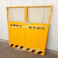 新乡施工电梯防护门带门套 安平施工电梯防护门厂家