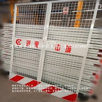 河南本地建筑施工电梯防护门 电梯井防护门规范