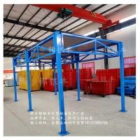 鋼筋加工棚頂部怎么做/河南 定型化鋼筋加工棚