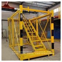 工地基坑爬梯 安全爬梯 新型安全爬梯 梯笼