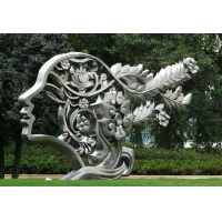 青岛公园不锈钢景观雕塑厂报价 公园卡通雕塑定做