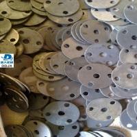山東沖壓法蘭毛坯廠家定做45號鋼板圓盤