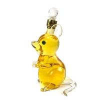 定制玻璃工艺酒瓶动物造型老鼠生肖酒瓶