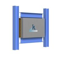 防屈曲鋼板墻生產藍科減震