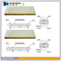 岩棉夹芯板屋面板 江苏岩棉彩钢夹芯板多少钱一平方