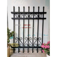 锌钢花叶各种铁艺围栏和铁艺护栏配件