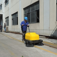 涪陵手推式掃地機 商業街景區用環衛清掃機
