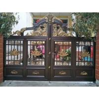 鋁藝庭院大門,鐵藝庭院大門,不銹鋼大門,銅大門訂制