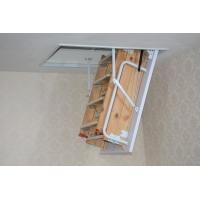 伸缩楼梯、阁楼伸缩梯、木制、碳钢、合金伸缩梯、美尔森出品