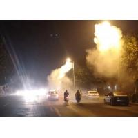 西安喷雾路灯,公路降尘喷雾太阳能路灯