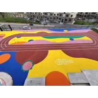 北京幼儿园新国标EPDM彩色橡胶颗粒厂家直销施工
