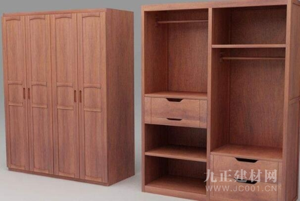 红椿木衣柜