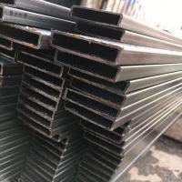 供应上海直角方管 尖角方管 方矩形管幕墙用直角方管