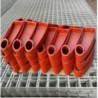 防撞护栏支架_莱芜钢板焊接护栏支架图纸加工