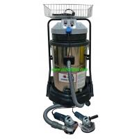 电动磨光机自动除尘设备