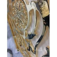 厂家直销铜艺楼梯扶手 个性铜艺屏风壁画