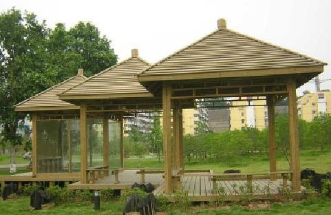 碳化木亭廊廠,貴州重慶碳化木亭子批發