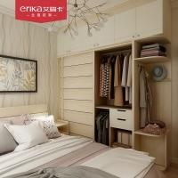 艾瑞卡全屋定制 北欧极简家具定做 白色橡木色全房家具