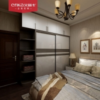 艾瑞卡全屋定制 电视柜衣柜组合装饰柜现代极简风格