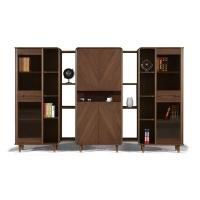 高端大氣文件柜低調內斂款式多樣支持定制廣州盛源家具