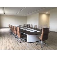 現代沉穩會議桌款式多樣支持定制廣州盛源家具