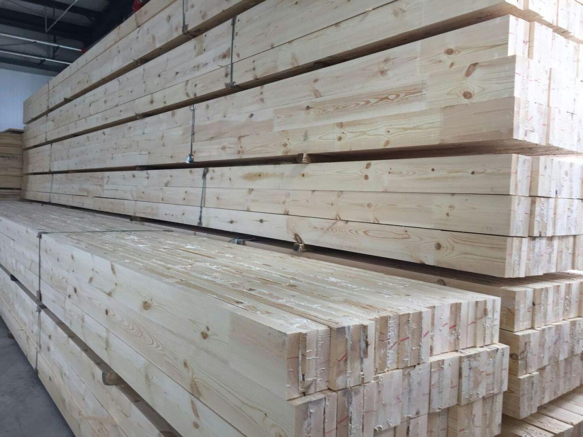 润远木屋墙体胶合木