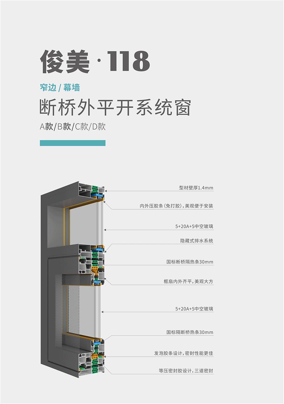 俊美・118-A款