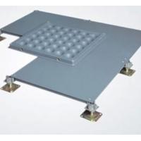 无边防静电地板绿源全钢防静电地板OA网络地板