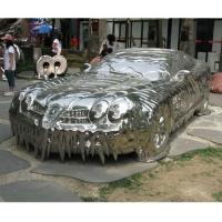 车创意不锈钢雕塑 模型模具雕塑