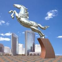 飛馬不銹鋼雕塑 上海不銹鋼雕塑公司