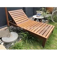 雅亭家具YT-392戶外木制躺椅休閑沙灘椅